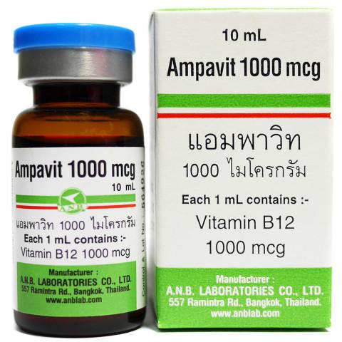 Alcohol and vitamin b12